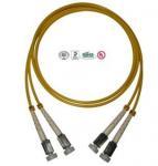 Buy cheap Single Mode D4 Fiber Optic Patch Cord Simplex Duplex Double Cores from wholesalers