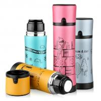 Buy cheap Office Bike Bicycle Stainless Steel Water Bottle Vacuum Thermos Flask 350/500m from wholesalers