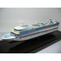 Buy cheap Ivory White Plastic Cruise Ship Models With Crown Princess Cruise Ship Series from wholesalers