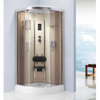 Buy cheap Computer Controlling Free Standing Shower Stall , Tempered Glass Shower Enclosures 900 X 900 from wholesalers