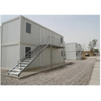 Buy cheap 20ft recycled container house office for construction site in Africa from wholesalers