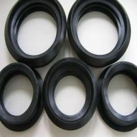 Buy cheap Custom-make EPDM/MBR/CR material heat resistance pipe rubber gasket product