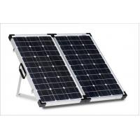 Buy cheap 100 W Folding Solar Panels Anti - Reflective With Heavy Duty Padded Easy Carry Bag from wholesalers