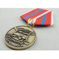 Buy cheap Souvenir Gift Zinc Alloy 3D Custom Medal Awards with Ribbon Two Sides Die Casting from wholesalers
