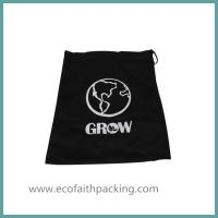 Buy cheap shoes bag with cotton fabric, shoes drawstring bag, shoes canvas bag from wholesalers