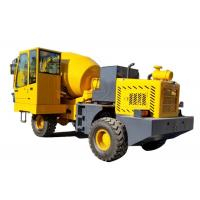 Buy cheap Diesel Industrial Self Loading Concrete Mixer Heavy Duty 2900L Drum Capacity from wholesalers