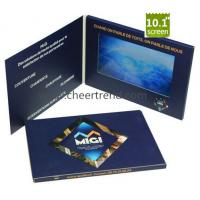 Buy cheap Marketing 10 inch avi TFT LCD video greeting card,video book video brochure for advertising from wholesalers