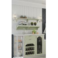 Buy cheap Fashionable concise high technology unique integral kitchen cabinet from wholesalers