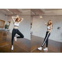 Buy cheap Breathable Womens Jogger Sweatpants , Women'S Athletic Pants Lycra Material from wholesalers