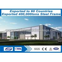 Buy cheap Double / Single Slope Pre Engineered Building Structure Q235 Round Bar from wholesalers