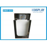 Buy cheap Retail POP Cardboard Display Dump Bins Black UV Coating For Faucet from wholesalers