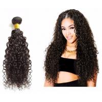 Buy cheap Bouncy Bulk Human Hair Extensions Without Any Chemical Treated For Women from wholesalers