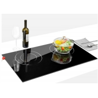China Simple Touch Timer Double Burners Built In Combined Hob on sale