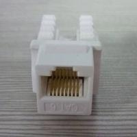 Buy cheap Factory Price Dual IDC Cat6 Keystone Jack White Color from wholesalers