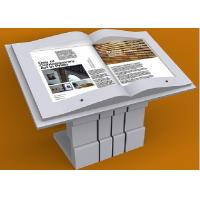 China 46 Inch Book Design Digital Kiosks Touch Screen X86 System Long Lifetime on sale