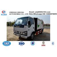 Buy cheap high quality and competitive price ISUZU 5m3 garbage compactor truck for sale, HOT SALE! ISUZU 4tons compactor truck from wholesalers