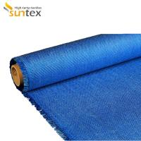 Buy cheap Acrylic Coated Fiberglass Fabrics Heat Resistant Cloth For Fireproof & Welding Protection & Hullboard from wholesalers
