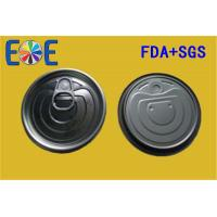 Buy cheap Tinplate Pop Can Lids  214# 69.7mm FA Metal Container Easy Open Door from wholesalers