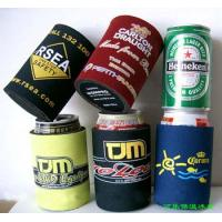 Buy cheap 4mm Insulated Neoprene Stubby Holder Cooler with base For 310ml-330ml Can, beer product