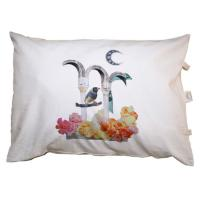 Buy cheap Organic Cotton Soft Decorative Pillows , Sustainable Sofa Chair Cushions product