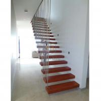 Buy cheap wooden staircase indoor staircase modern staircase interior stainless steel staircase design from wholesalers