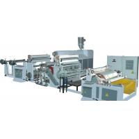 Buy cheap Roll To Roll Non Woven Fabric Glue Lamination Machine from wholesalers