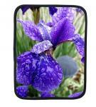 Buy cheap Purple Iris ipad case, flower ipad sleeve, neoprene ipad sleeve from wholesalers