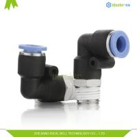 Buy cheap Composite Plastic Tube Fittings PL10-02 10mm Metric Push In Fittings from wholesalers