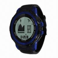 Buy cheap Fishing Barometer/Weather Forecast, Graphical Expression of Changes in Altitude, Tide Watch from wholesalers