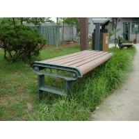 Buy cheap Anti - deformation Composite Outdoor Furniture WPC Bench With High Impact Resistant from wholesalers