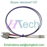 Buy cheap 40Gb Duplex SC/LC OM4 Fiber Patch Cable 2.0MM LSZH from wholesalers