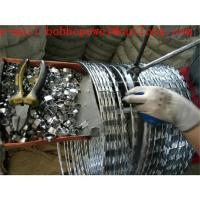 Buy cheap concertina wire manufacturer/welded razor mesh/razor coil/ razor blade fence/ concertina coil price/razor mesh fencing from wholesalers