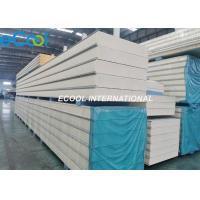 Buy cheap Modular Cold Room Polyurethane Insulation Panel / 100mm Coolroom Panels from wholesalers