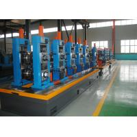 Buy cheap High Precision Carbon Steel ERW Tube Mill Line With Worm Adjustment from wholesalers