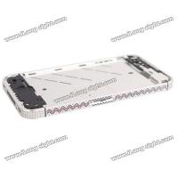 Buy cheap New Diamond Edged Electroplating Metal Mid Bezel Frame Plate for iPhone 4S from wholesalers