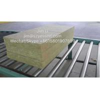Buy cheap 50-220KG/M3 insulating rockwool panel/rockwool board made in China from wholesalers