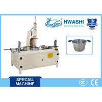 Buy cheap Stainless Steel Welding Machine , Soup Pot Double Handle Projection Welding Machine from wholesalers