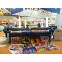 Buy cheap DX5 Inkjet Print head Printer 1.8M Professional Eco Solvent Printer with 1440dpi from wholesalers