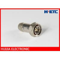 Buy cheap Communication 1/2 Feeder Cable Rf Antenna Connector , Male ST Clamp Electornic Antenna Cable Connectors product