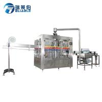 Buy cheap Full Automatic Carbonated Bottling Equipment Beverage Soda Water Filling Machine from wholesalers