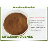 Buy cheap Buy Sodium lignosulphonate Wood pulp grade as Water reducing agents product