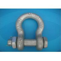 Buy cheap High Strength Forged Shackle Used for Tract Wire Rope and Other Tools in Construction from wholesalers