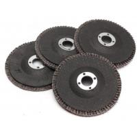Buy cheap GRINDING WHEELS-TYPE 27 Abrasive Blaze R980P CA Coarse Grit Center Mount Plastic Flat Flap Disc,Interleaved flap discs from wholesalers