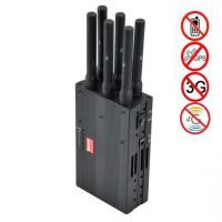 Buy cheap 6 Antenna High Power Portable Cell Phone Signal Jammer Blocking GSM 3G 4G LTE WIMAX GPS product