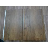 China High Strenth 25cm PVC Wall Panels For Showers Groove Design Wall Laminate Sheets on sale