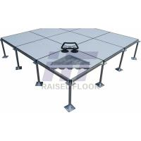 Buy cheap Accurate Dimension Removable Raised Access Flooring Low Air Leakage Rate from wholesalers