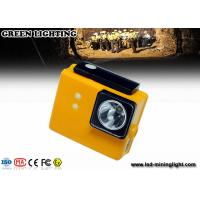Buy cheap PC 6.4ah 3.7v Battery Cree Led Mining Light , Miners Lights For Hard Hats from wholesalers