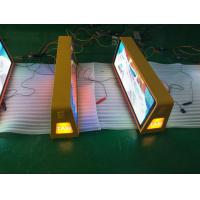 Buy cheap Easy installation taxi led advertising sign , wireless taxi top sign from wholesalers