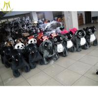 Buy cheap Hansel 2016 high quality coin operated ride on costumes 12 volt ride on toys style plush animal electric scooter from wholesalers