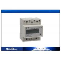 Buy cheap Customized Din Rail Kwh Meter Single Phase 230V Voltage RS485 Modbus from wholesalers